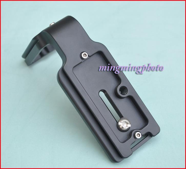 Pro Vertical L Type Bracket Tripod Quick Release Plate Base Only For Nikon D300 D700 PT091