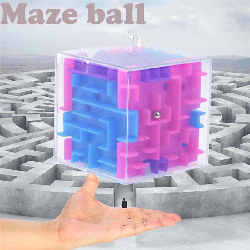 HIINST ребенок 3D куб головоломка Лабиринт игрушка ручной игровой корпус коробка забавная игра мозг вызов Непоседа игрушки