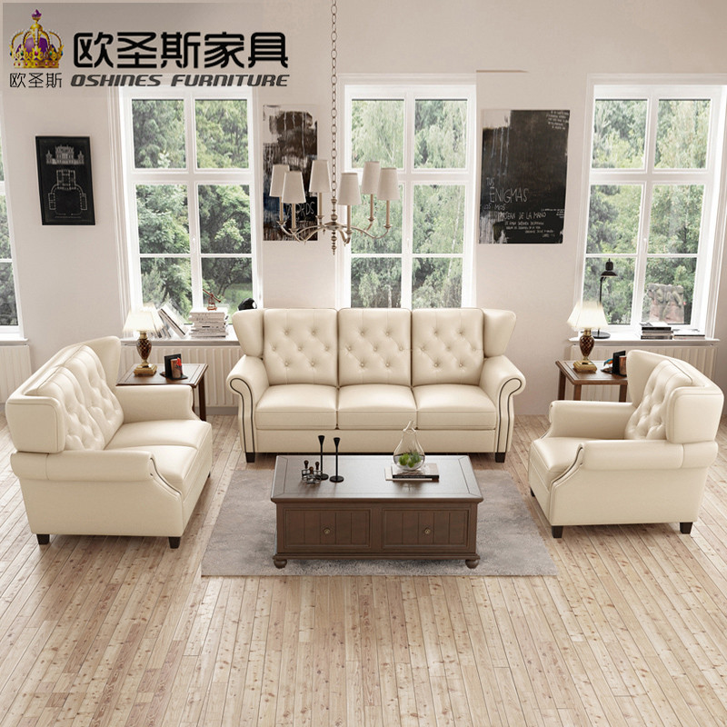 Latest Sofa Set Designs 6 Seater American Style Chesterfield New Antique  Furniture Vintage Brown Leather Sofa Set Price F80A