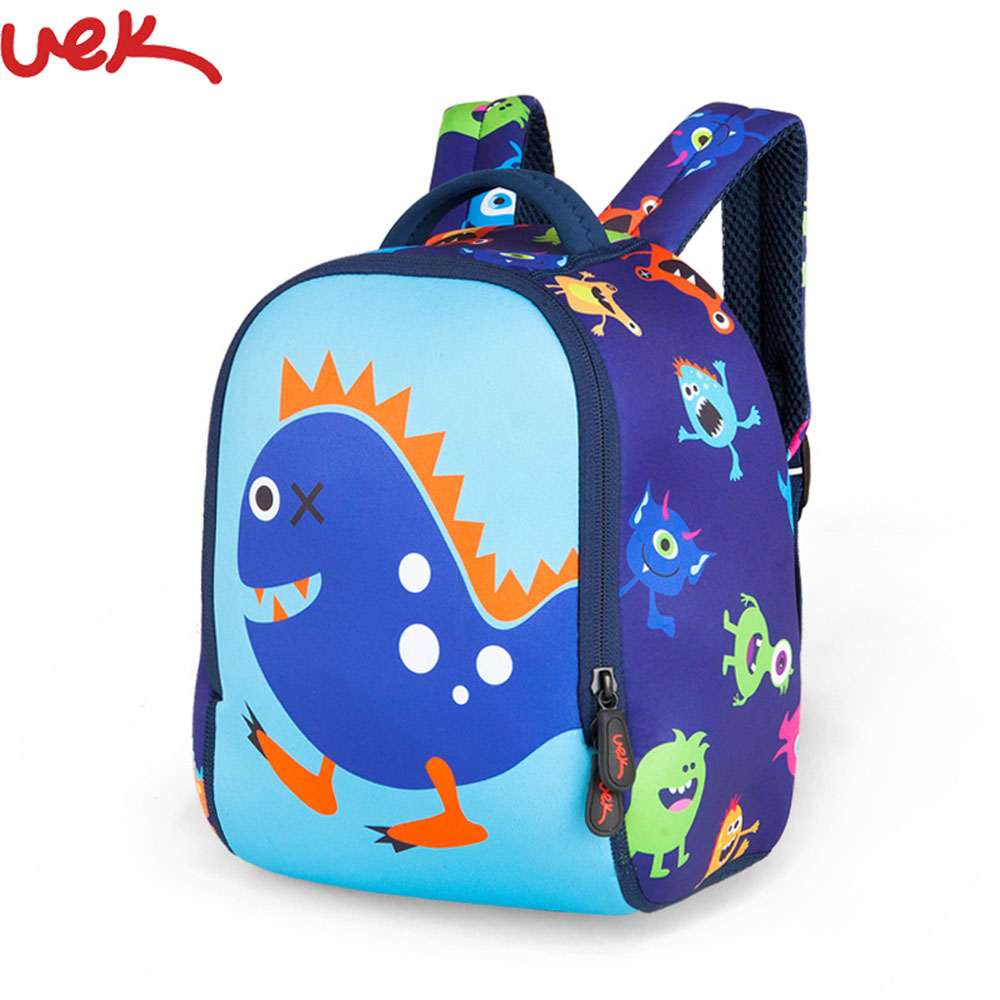 Cute Monster Printing Kids Backpack Kindergarten Backpack Children School Bags For Girls Boys Cartoon Monster Schoolbag A3309 Рюкзак