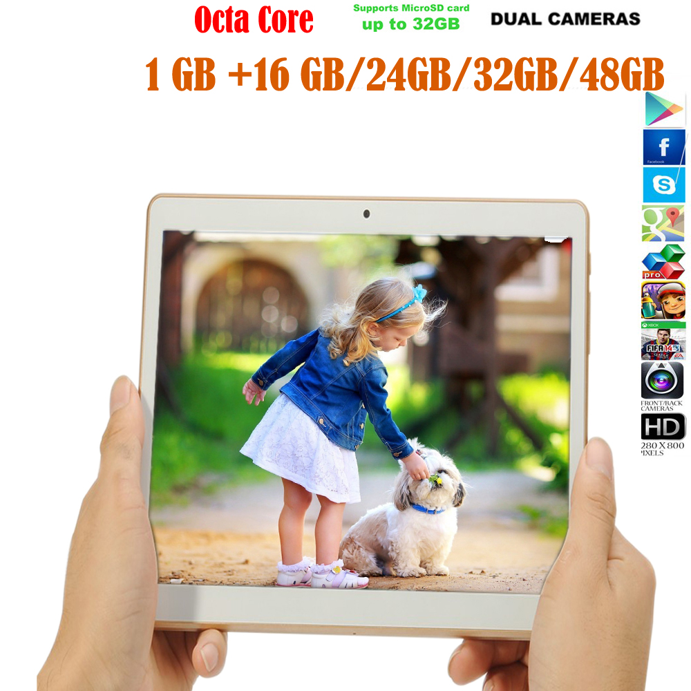 2016 iBOPAIDA 16 GB/32 GB/48G ANDROID 5.1 9.7 pouces téléphone tablette 4G RAM double SIM OCTA CORE GPS Support bureau WIFI micro SD TF carte