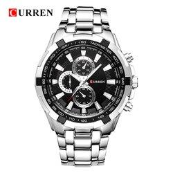 Relogio Masculino CURREN Watches Men quartz army Watch Top Brand Waterproof male Watches Men Sports
