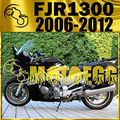 Motoegg ABS Fairing For FJR1300 FJR 1300 2006-2012 06-12 Brown Y36M40 Motorcycle ABS plastic