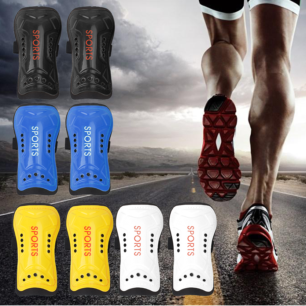 Light Soft Football Soccer Shin Pads Kids Adult Sports Leg Protector Shin Pads Football  ...