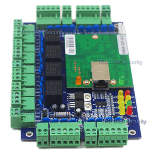 Image 3 - Four Door Network Access Control Panel Board With Software Communication Protocol TCP/IP board Wiegand Reader for 4 Door Use
