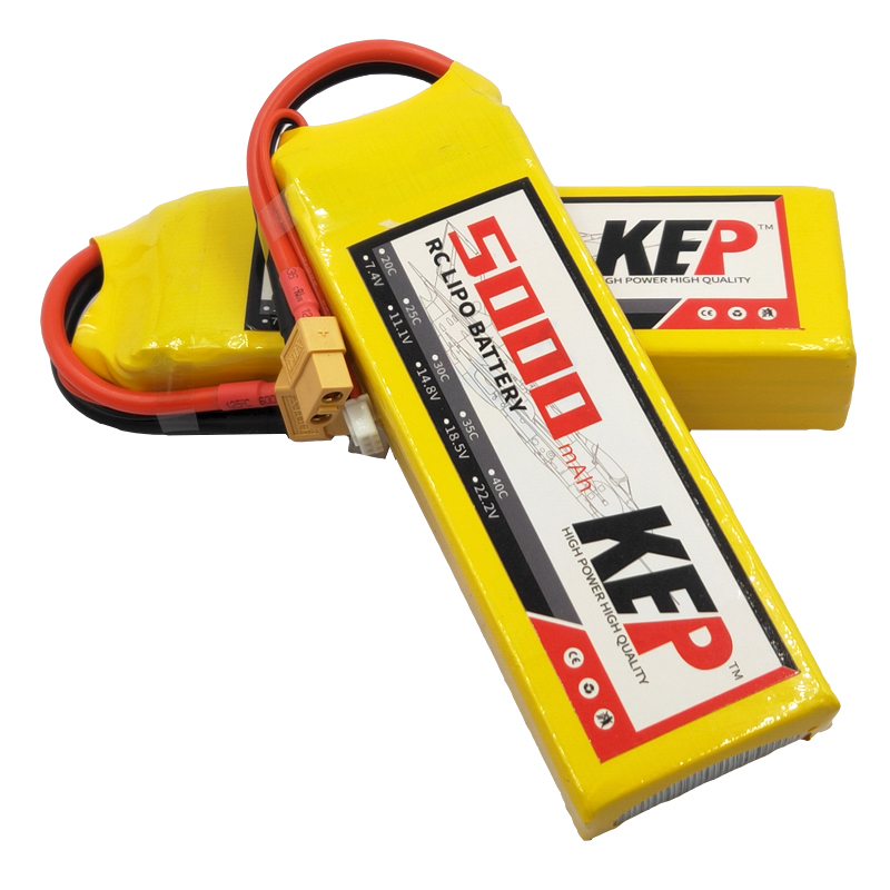 High Quality Rechargeable <font><b>Lipo</b></font> Battery <font><b>2S</b></font> 7.4V <font><b>5000mAh</b></font> 30C 40C RC <font><b>Lipo</b></font> Battery For RC Airplane Car Drone Remote Control XT60 image