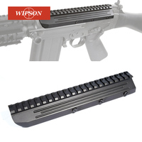 WIPSON Sa58 FN FAL alcance montaje riel Picatinny de aluminio de perfil bajo para FN FAL Rifle serie Mnt-981 M8593 completa de Metal CNC hecho