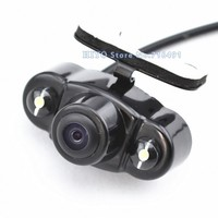 2Pcs Lot Parking Assistance System Universal HD CMOS 2 LED Night Vision Car Rear View Camera
