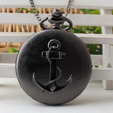 Top Movie Theme Watches Pirates of The Caribbean Necklace Men Women Chirldren Gifts Quartz Pocket Watch Anchor Seaman TPB184