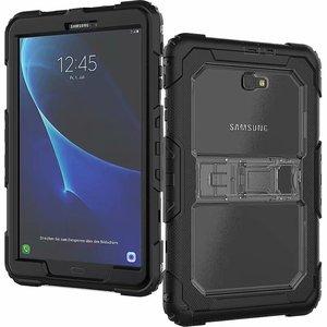 Image 5 - Kid Fall für Samsung Galaxy Tab EINE A6 10,1 2016 T580 T585 SM T585 T580N Tablet Stoßfest Heavy Duty Funda Abdeckung mit Ständer Hang