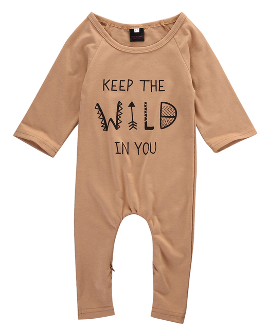 1aeed44ff 2017 Summer Newborn Infant Baby Boy Girl Kids Cotton Romper Jumpsuit ...
