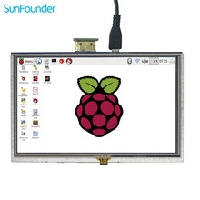 Sale SunFounder 5″ HD TFT LCD Touch Screen Monitor Display HDMI 800*480 for Raspberry Pi 3, 2 Model B and Raspberry Pi 1 Model B+