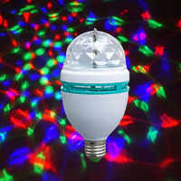 JSEX LED Bulb E27 Smart Light RGB Bulbs Lamp Stage Lighting Effect Neon Lights Night Light Bar Home Room Party Decoration
