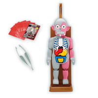 Human Body Model Trick Joke Game 3D Novelties Toys Gag Gift Assembled Toy Practical Jokes Educational For Kids Childern