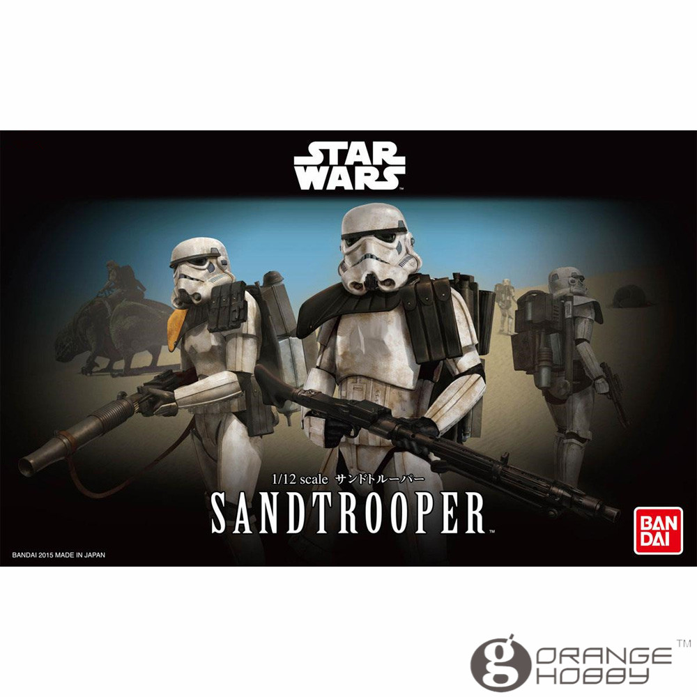 OHS Bandai Star War 1/12 Sandtrooper Assemblea Model Kit-in Kit di modellismo da Giocattoli e hobby su  Gruppo 1