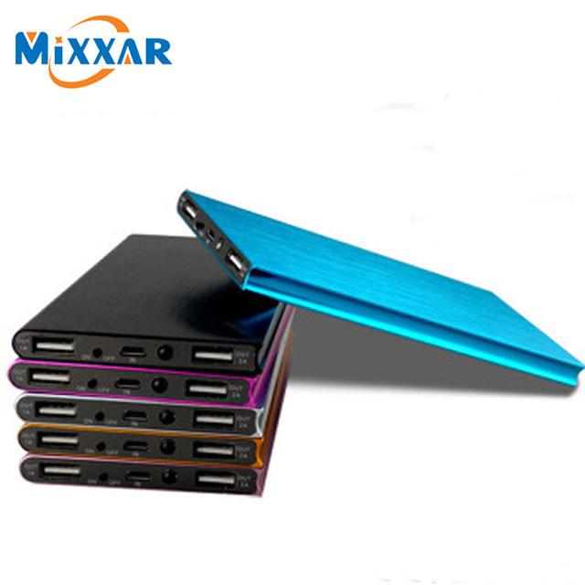 Mixxar 12000 mah power bank bateria externa carregador de bateria powerbank carregador portátil de bateria externa portatil bakeup
