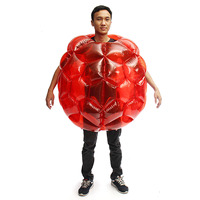 Inflatable PVC Bubble Soccer Ball Body Bumper Funny Outdoor Game Body Zorb Ball Football For Kids