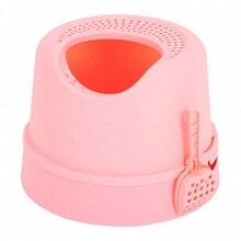 Top-в кошачьем туалете, не разбрызгивающийся, дезодорант для кошачьего туалета, большая коробка для кошачьего туалета, полностью закрытая на кошачьем туалете