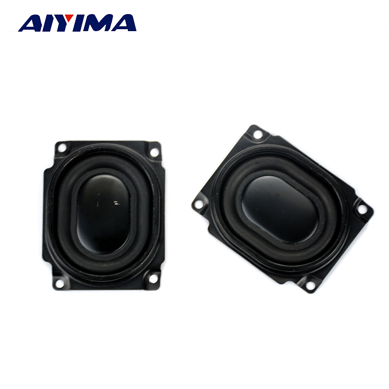 Aiyima 2Pcs SK Bass Speaker Protective Grille Diaphragm DIY For Car Sound Box Speaker Low Audio Woofer Protective Grille 54*43mm