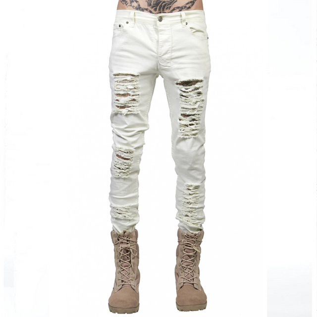 Supper Ripped Jeans For Men  3