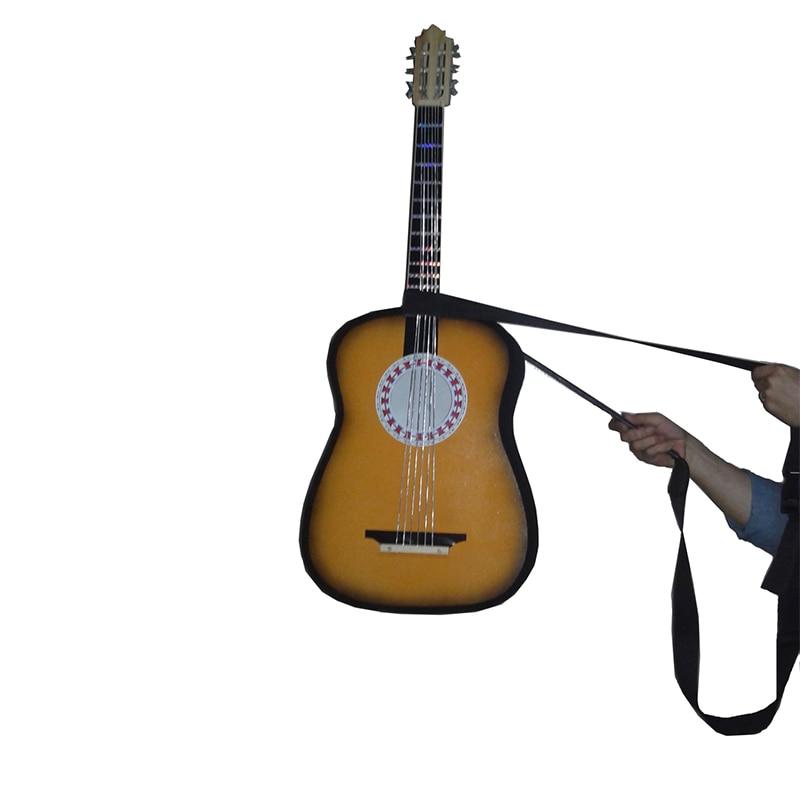 Apparaitre et flottant guitares tours de magie incroyable scène Illusions de magie accessoires de Gimmick drôle mentalisme accessoires de magie pour magicien
