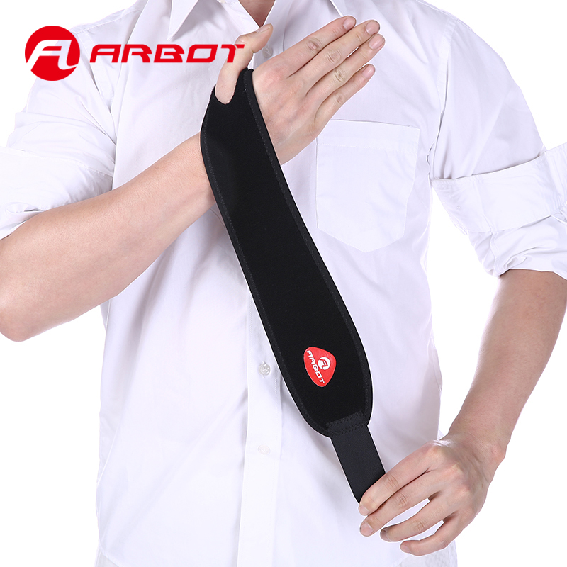 Arbot-Adjustable-Wrist-Support-Brace-Brand-Wristband-Wrist-Bandage-Support-Hand-Bodybuilding-Power-Lifting-For-Sports