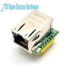 1pcs USR ES1 W5500 칩 새로운 SPI to LAN 이더넷 컨버터 TCPIP Mod