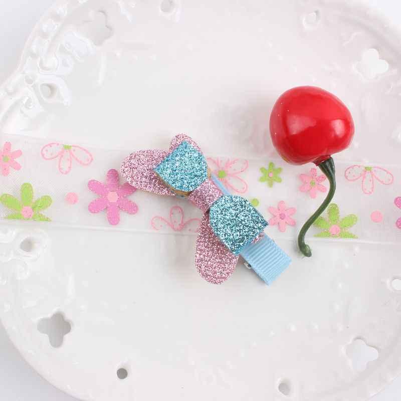 1pcs new duplo grande e pequeno arco Patchwork combinação material de hairpin esponja Acessórios de Cabelo para meninas MIÚDOS presilhas BM017