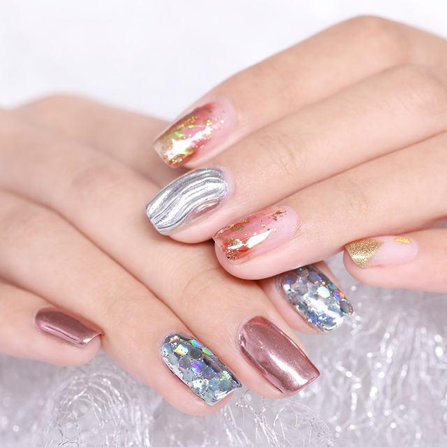 Mirror Effect Nail Glitter Powder