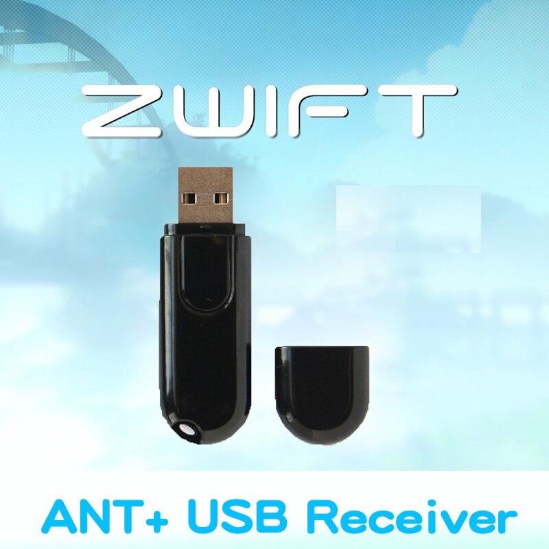 Zwift ANT + USB Trasmettitore Ricevitore Garmin Compatibile Bryton Bicicletta Ciclo Computer da USB ANT Stick Bluetooth Velocità Sensore di Cadenza
