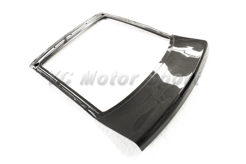 Car Accessories FRP Fiber Glass OEM Style Rear Hatch Fit For 1989-1994 180SX RPS13 Rear Hatch Trunk Car-styling