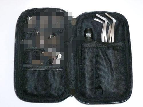 Locksmith sets Training Tool Set Locksmith Practice Tools with LED ..we also sell lishi hu66 hu92 hu100 hu100R hon66...