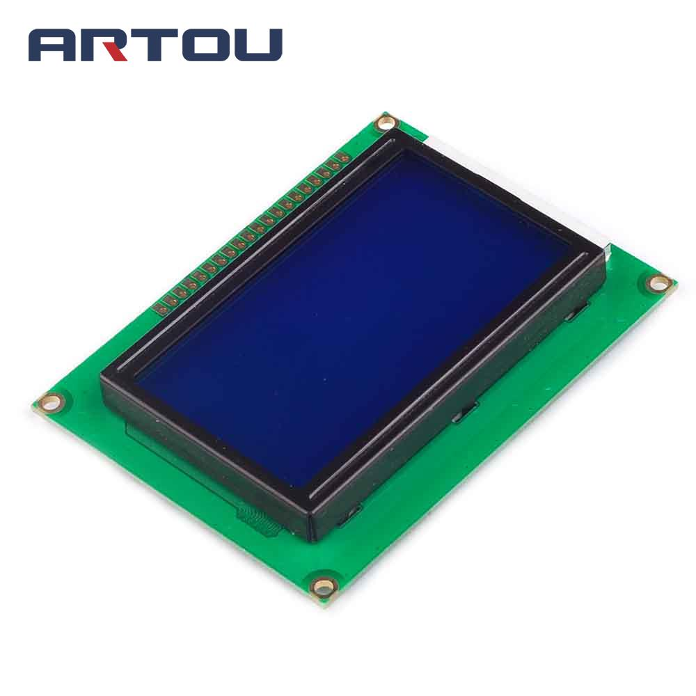 1PCS 12864 128x64 Dots Graphic Blue Color Backlight LCD Display Module