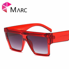 MARC WOMEN sun glasses Trendy eyewear Goggle Plastic Leopard print Transparent Over
