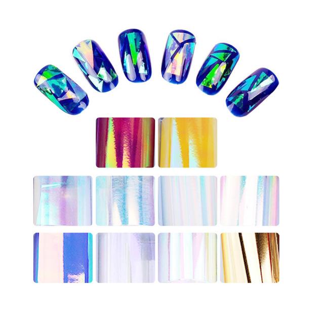 Holographic Nail Foils Set