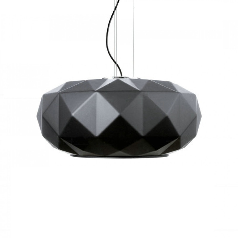 Deluxe Pendant Lights White Black Glass Pumpkin Pendant Lamp For Restaurant Living Room  ...
