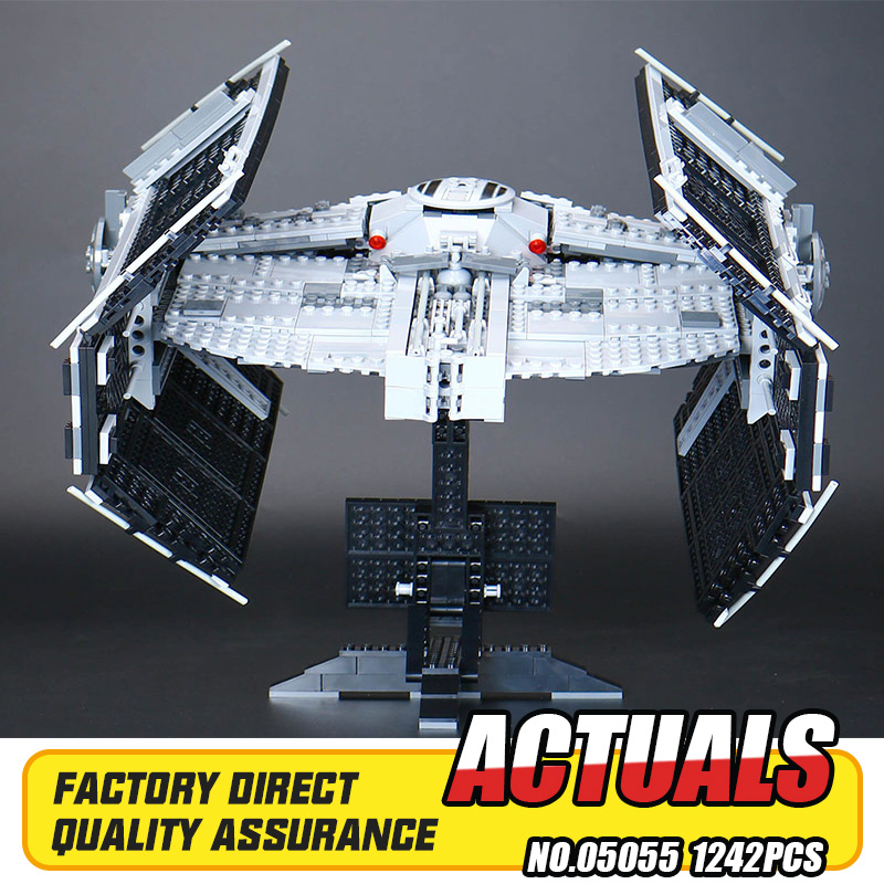 ФОТО Lepin 05055 Star War Series The Rogue One USC Vader TIE Advanced Fighter Set 10175 Building Blocks Bricks Educational Toys Gift