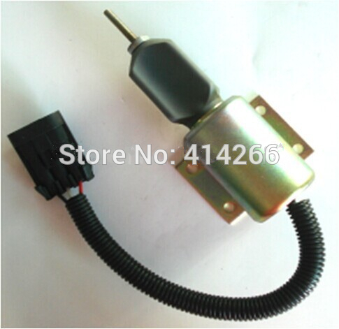 DIESEL SHUT OFF SOLENOID 3990771 Solenoid Fuel Pump SA-4931-2424V 2pcslot free fast shipping