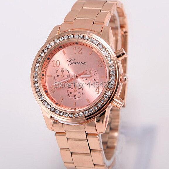 b1464cd3126 Relogios Feminino Dourado relógio moda feminina de luxo assista mulher ouro  quartzo das mulheres relógio de pulso Luxury vestido relógios Luxe em  Mulheres ...