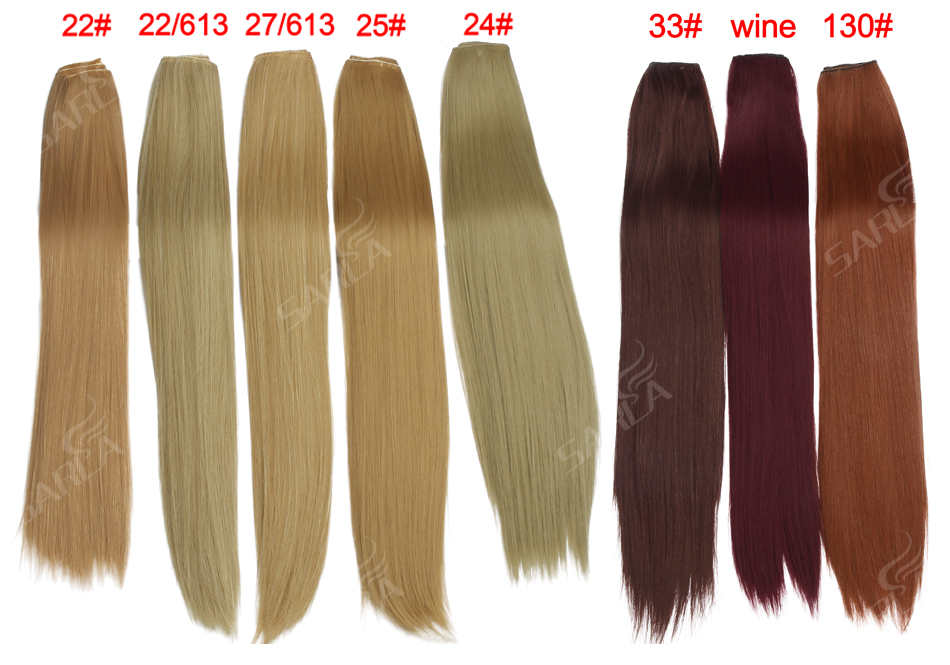 Women's 24in Straight Hair Extensions 15