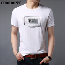 COODRONY T Shirt Men 2019 Summer New Streetwear Fashion Casual Short Sleeve T-Shirt Top Tshirt O-Neck Tee Homme S95111