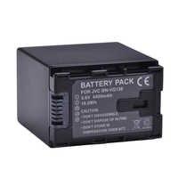 1pc 4450mAh BN-VG138 BN VG138 BNVG138 Battery for JVC GZ E10 E100 E245 E265 E565 E575 GX1 G3X G5 GX8 EX210 EX250AC