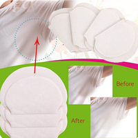 50pcs 25packs summer deodorants underarm sweat pads dress clothing perspiration pads for women man absorbing pads.jpg 200x200
