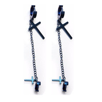 20pcs/pack Long chain hoop earring big small cross pendant unisex ear jewelry man woman fashion piercing jewelry