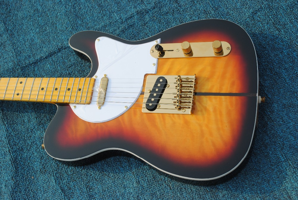 New Arrival F Custom Shop guitarra telecaster TL Electric Guitar Merle Haggard Signature Tuff Dog guitar,EMS free shipping