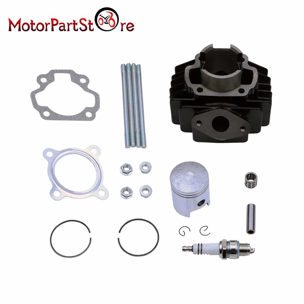 Moteur Cylindre de Piston Pin Joints bougie d'allumage Kit pour Yamaha PW50 PW 50 PEEWEE 40 MM Moto Dirt motocross ATV quad