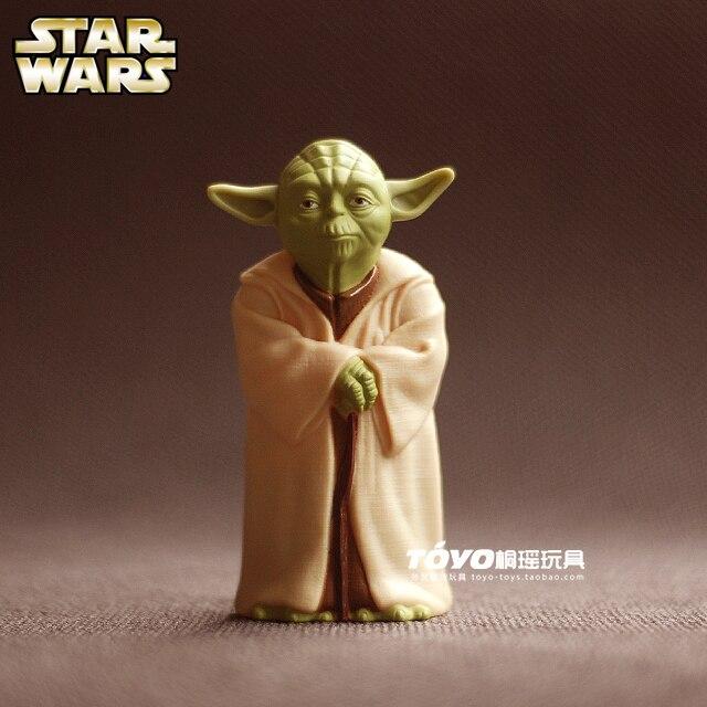 купить McDonald's 2009 version of Star Wars Jedi Master Yoda print classic doll ornaments elders недорого