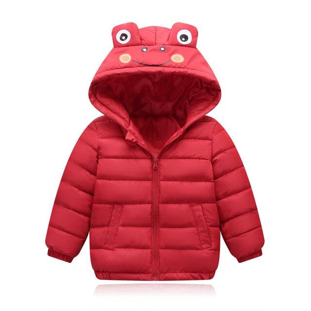 Großhandel Kinder Jungen Mäntel Herbst Winter Mädchen Baumwolle Kleidung Kinder Baumwolle Daunenjacke Fashion Short Baby Jacke Mit Kapuze