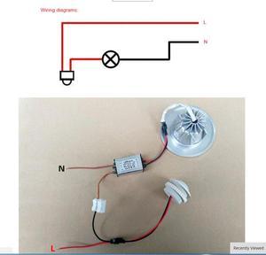 Image 5 - Corredor da cozinha pir sensor detector interruptor inteligente ajustável tempo de atraso 110v 220v pir sensor de movimento infravermelho interruptor de luz