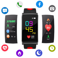 2018 Latest Smart Watch Women Heart Rate HR Tracker Smart Watch Smart Bracelet Blood Pressure Detection Smart Device Wristbands